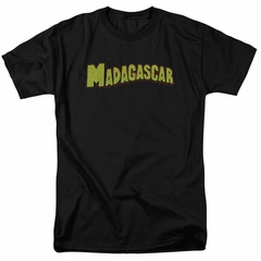 Madagascar Shirt Logo Black T-Shirt