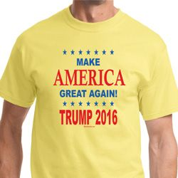 Donald Trump Make America Great Again Text Shirts