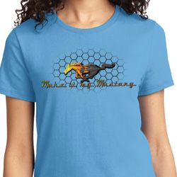 Make it My Mustang Ladies Ford Shirts