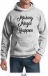 Making Magic Happen Black Print Hoodie