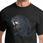 Marilyn Monroe Shirt Sequins