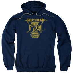 Masters Of The Universe Hoodie Sweatshirt Hero Of Eternia Navy Adult Hoody Sweat Shirt