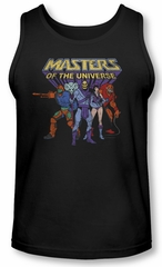 Masters Of The Universe Tank Top Team Of Villains Navy Tanktop