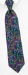Mellow Melody Tie Blue Silk Necktie - Mens Music Neck Tie