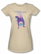 Melrose Place Juniors Shirt Love Amanda Cream T-Shirt