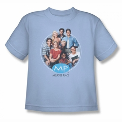 Melrose Place Shirt Kids Cast Light Blue T-Shirt
