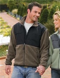 Men's Heavyweight 100% Spun Polyester Frontiersmand Fleece Jacket