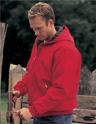 Men's Heavyweight Cotton Timberline Hooded Jacket