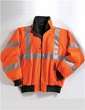 Tri Mountain Men's Heavyweight District Protective Jacket With 3M Reflective Tape