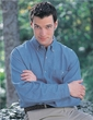 Men's Tall Sizes 100% Cotton Denim Pioneer Long Sleeve Shirt