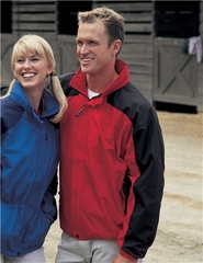 Tri Mountain Men's Tall Sizes Windproof Water Resistant Meridian Jacket