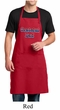 Mens Apron Grateful American Dad Full Length Apron with Pockets