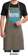 Mens Apron I Train For Wine Full Length Apron with Pockets