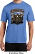 Mens Biker Shirt Who Let The Hawgs Out Moisture Wicking Tee