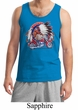 Mens Biker Tanktop Big Chief Indian Motorcycle Biker Tank Top