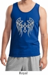 Mens Biker Tanktop Cross Wings Tank Top