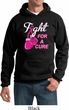 Mens Breast Cancer Awareness Hoodie Fight For a Cure Hoody
