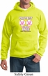 Mens Breast Cancer Awareness Hoodie Protect 2nd Base Hoody