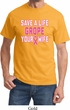 Mens Breast Cancer Awareness Shirt Grope Your Wife Tee T-Shirt