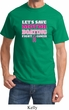 Mens Breast Cancer Awareness Shirt Motor Boating Tee T-Shirt