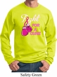 Mens Breast Cancer Awareness Sweatshirt Fight For a Cure Sweat Shirt