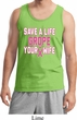 Mens Breast Cancer Awareness Tanktop Grope Your Wife Tank Top