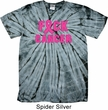 Mens Breast Cancer Shirt F*CK Cancer Spider Tie Dye Tee T-shirt