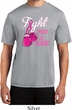 Mens Breast Cancer Shirt Fight For a Cure Moisture Wicking Tee T-Shirt