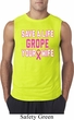 Mens Breast Cancer Shirt Grope Your Wife Sleeveless Tee T-Shirt