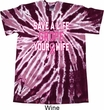 Mens Breast Cancer Shirt Grope Your Wife Twist Tie Dye Tee T-shirt