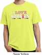 Mens Breast Cancer Shirt I Love Boobies Pigment Dyed Tee T-Shirt