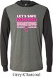 Mens Breast Cancer Shirt Motor Boating Lightweight Hoodie Tee