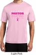 Mens Breast Cancer Shirt Motor Boating Moisture Wicking Tee T-Shirt