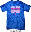 Mens Breast Cancer Shirt Motor Boating Spider Tie Dye Tee T-shirt