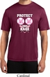Mens Breast Cancer Shirt Protect 2nd Base Moisture Wicking Tee T-Shirt