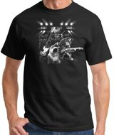 "Mens ""Cats Rock"" T-shirt - Black"