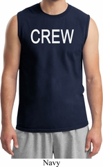 Mens Crew Muscle Shirt