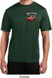Mens Dodge American Made Muscle Pocket Print Moisture Wicking Shirt