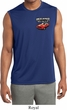 Mens Dodge American Made Muscle Pocket Print Sleeveless Dry Wicking