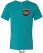 Mens Dodge American Made Muscle Pocket Print Tri Blend Crewneck Shirt