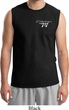Mens Dodge Challenger 1974 Pocket Print Muscle Shirt