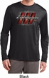 Mens Dodge Charger RT Logo Dry Wicking Long Sleeve Shirt