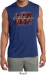 Mens Dodge Charger RT Logo Sleeveless Dry Wicking Shirt