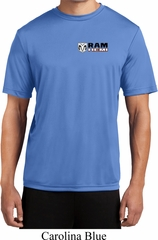 Mens Dodge Hemi Pocket Print Moisture Wicking Shirt