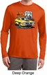 Mens Dodge Route 66 Charger RT Dry Wicking Long Sleeve Shirt
