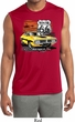 Mens Dodge Route 66 Charger RT Sleeveless Dry Wicking Shirt