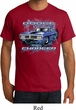 Mens Dodge Shirt Blue Dodge Charger Organic Tee T-Shirt