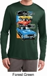 Mens Dodge Shirt Challenger Trio Dry Wicking Long Sleeve Tee T-Shirt