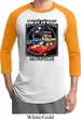 Mens Dodge Shirt Chrysler American Made Raglan Tee T-Shirt