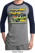 Mens Dodge Shirt Dodge Dart Raglan Tee T-Shirt